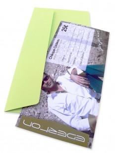 Gift 25 - Chèque Cadeau EDERTON® d'une valeur de 25 Euros