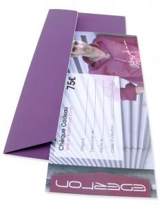 Gift 75 - Chèque Cadeau EDERTON® d'une valeur de 75 Euros