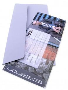Gift 100 - Chèque Cadeau EDERTON® d'une valeur de 100 Euros