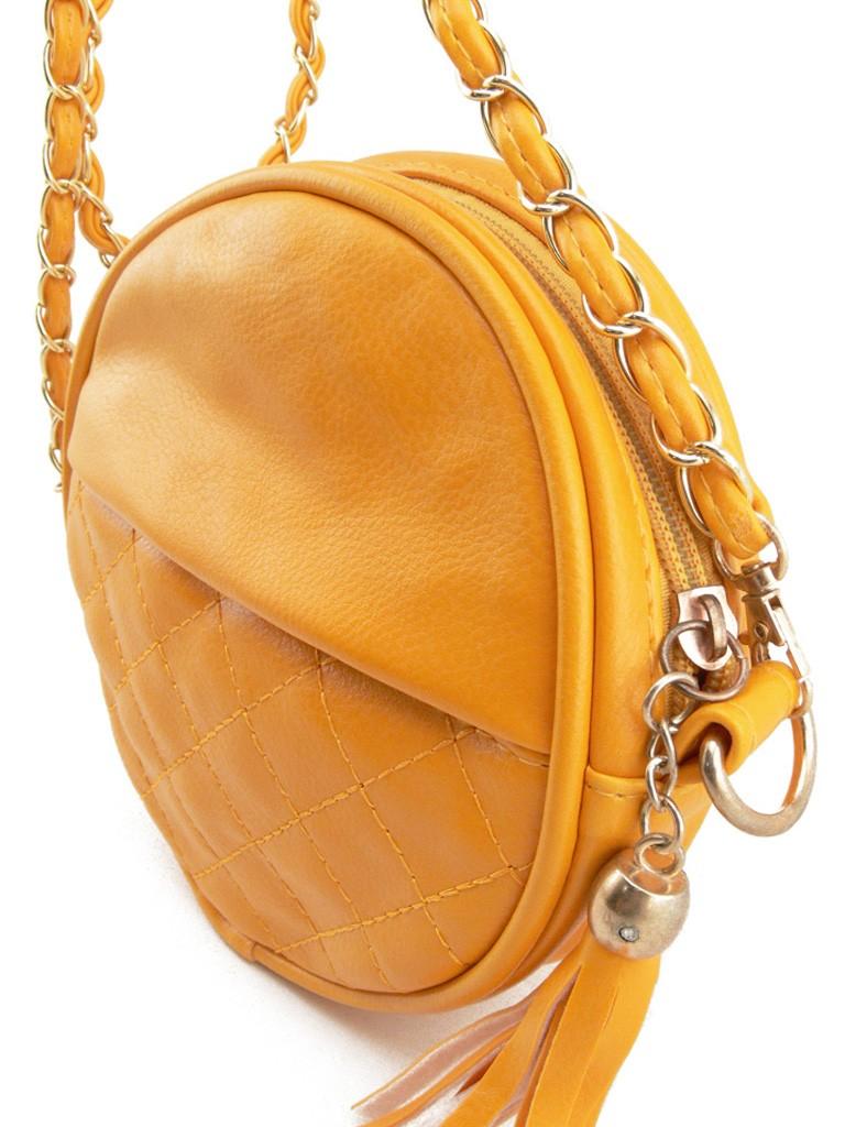 petit sac main femme jaune en cuir pu avec bandouli re cha ne dor es. Black Bedroom Furniture Sets. Home Design Ideas