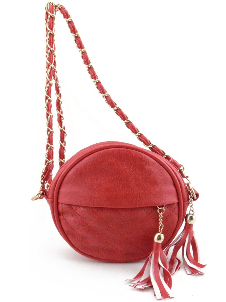 petit sac main femme rouge en cuir pu avec bandouli re cha ne dor es. Black Bedroom Furniture Sets. Home Design Ideas