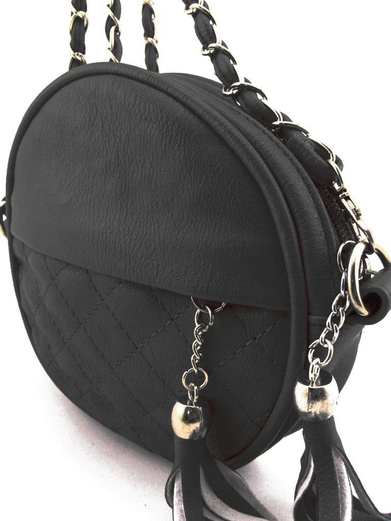 Petit Sac à Main Cuir Noir Bandoulière : Petit sac ? main femme noir en cuir pu avec bandouli?re