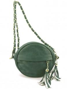 Petit sac à main vert