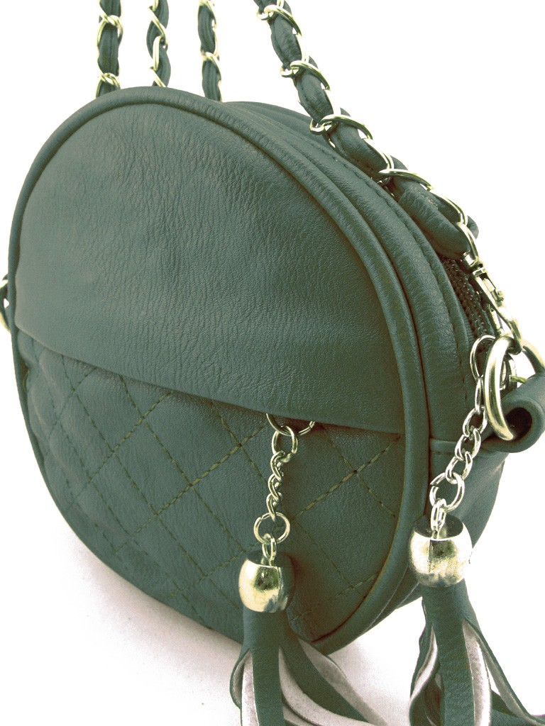 petit sac main femme vert en cuir pu avec bandouli re cha ne dor es. Black Bedroom Furniture Sets. Home Design Ideas