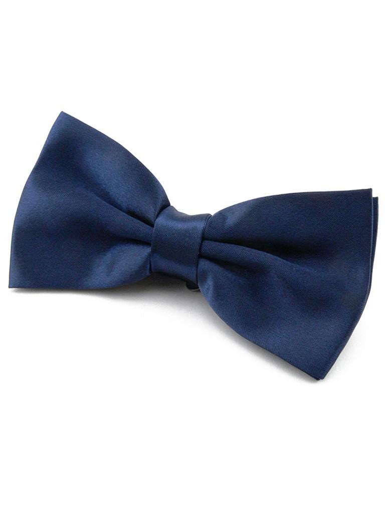 id modable noeud papillon pr nou r glable bleu marine en. Black Bedroom Furniture Sets. Home Design Ideas