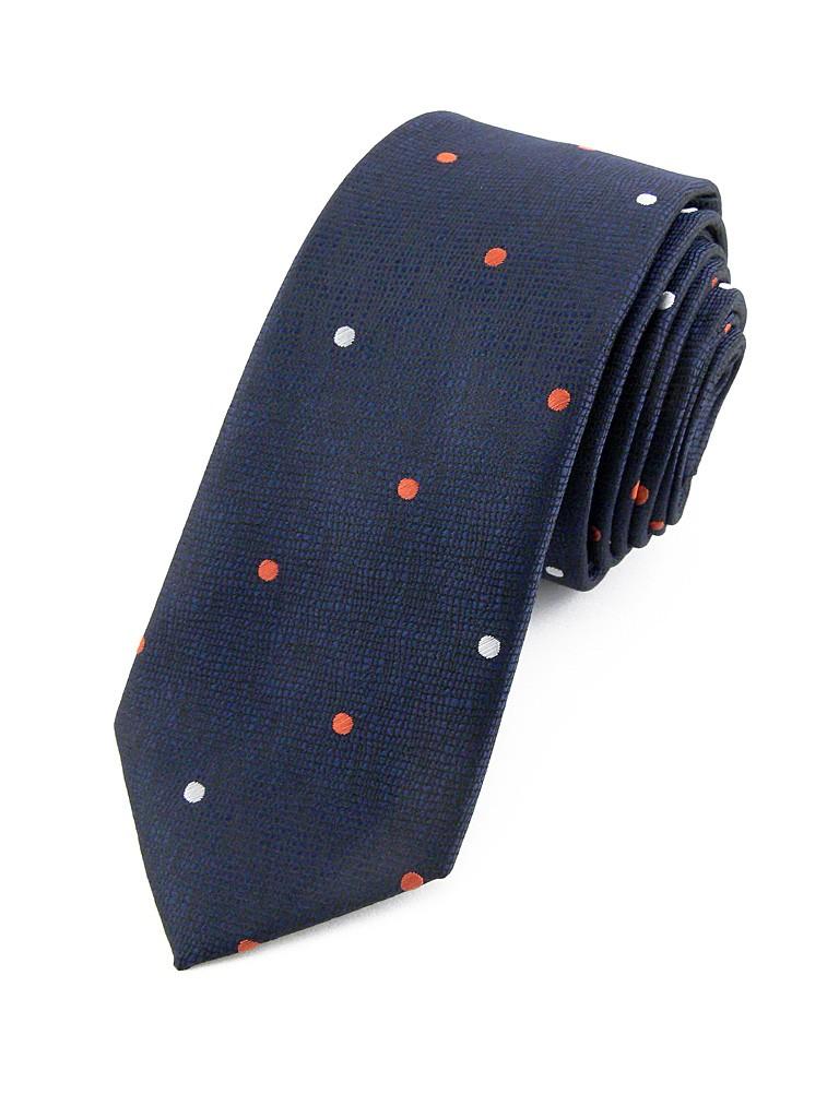 cravate homme bleu pois ederton mode. Black Bedroom Furniture Sets. Home Design Ideas