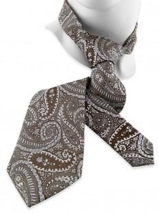 Paisley 100 - Cravate paisley néoclassique en pure soie Jacquard
