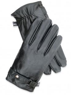 Glove 20 - Gant Homme Noir 100% cuir d'Agneau