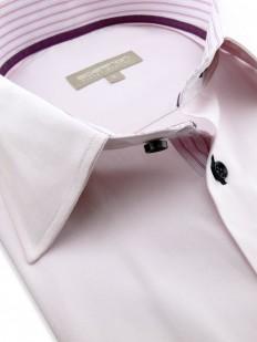 Karen - Chemise tendance en coton Oxford rose pâle