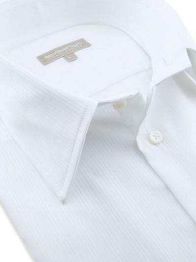 Majorque - Chemisette luxe en coton Égyptien blanc