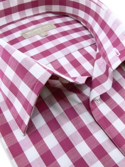 Antalya - Chemisette manches courtes fashion à carreaux