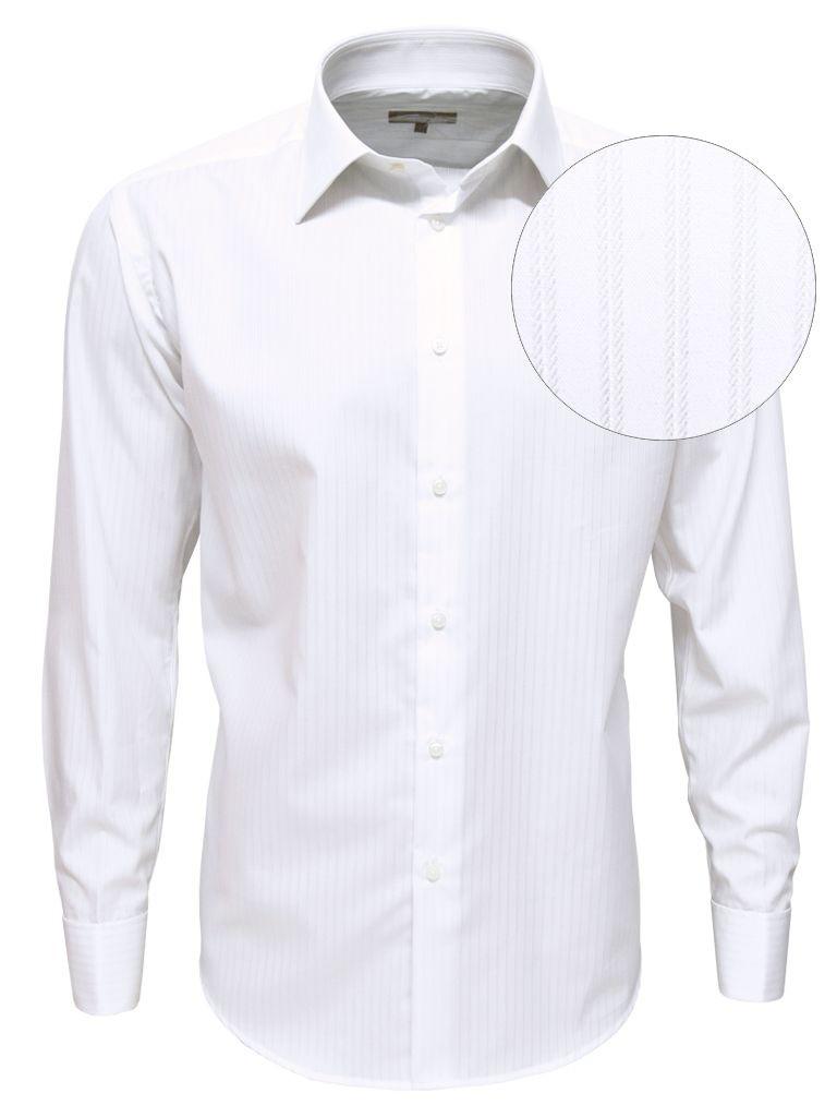 Homme Napoli À En Fines Zvxz6qwr chemise Blanc Luxe Coton Égyptien Pour MpULzjVqSG