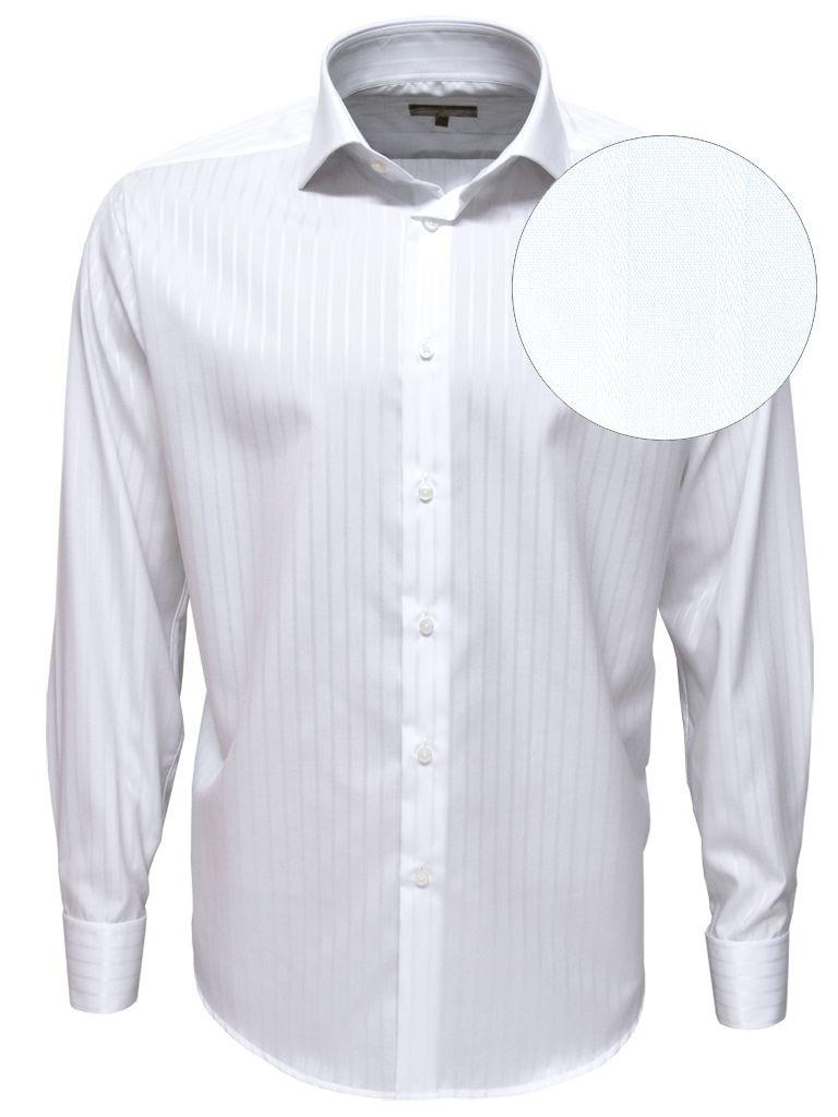 palermo chemise blanche luxe boutons de manchette en coton giza gyptien double retors. Black Bedroom Furniture Sets. Home Design Ideas