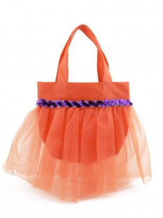 Sac à main enfant orange