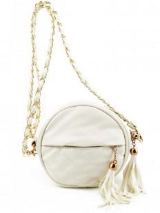 Petit sac à main ivoire