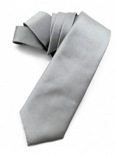 Cravate gris acier
