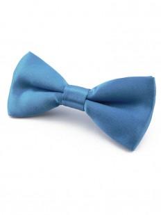 Noeud papillon Enfant Bleu acier