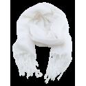 Écharpe blanche