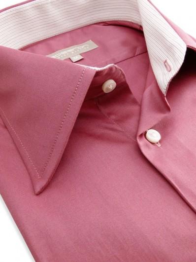 Carmen - Chemise Homme en coton Vieux Rose