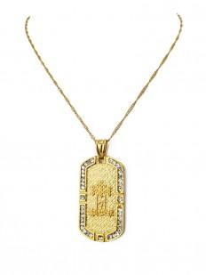 Collier symbole Islamique,