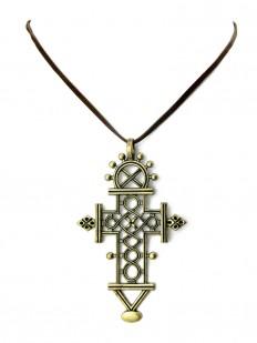 Croix Chrétienne Bronze,