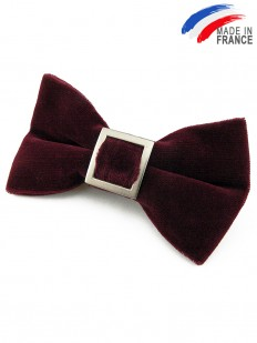 Noeud papillon Bordeaux