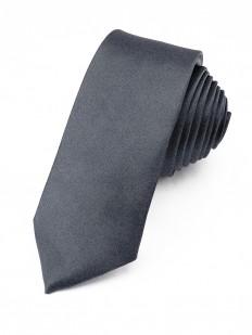 Cravate slim Gris foncé