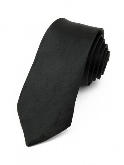 Cravate slim Noire