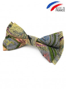 Noeud papillon multicolore