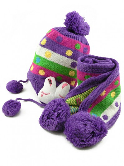 710d25a2d5651 Bonnet, écharpes, gants laine mode enfants fille et garçon