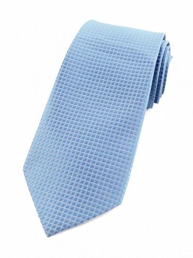 Cravate bleu ciel et lurex