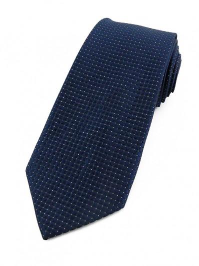 Cravate bleu marine et lurex