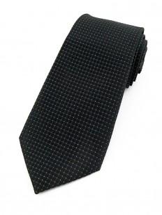 Cravate noire et lurex