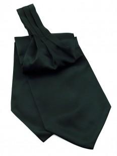 Ascot (Lavallière) en satin noir