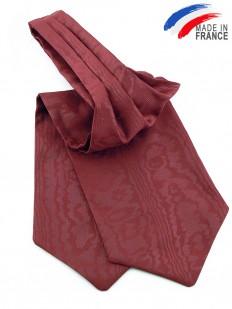 Ascot (Lavallière) rouge framboise