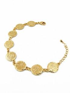 Bracelet chaîne de pièces