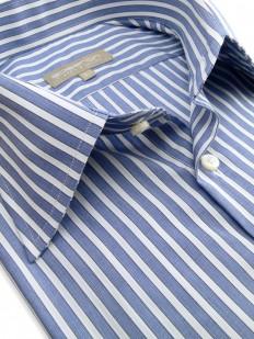 Chemise Luxe bleue et blanche