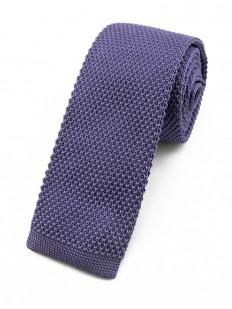 Cravate tricot lavande