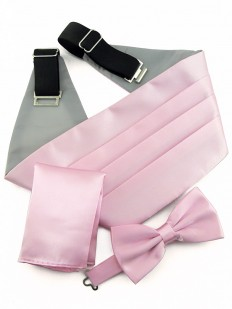 Ceinture Smoking rose