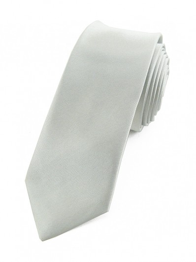 Cravate gris clair