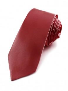 Cravate slim bordeaux