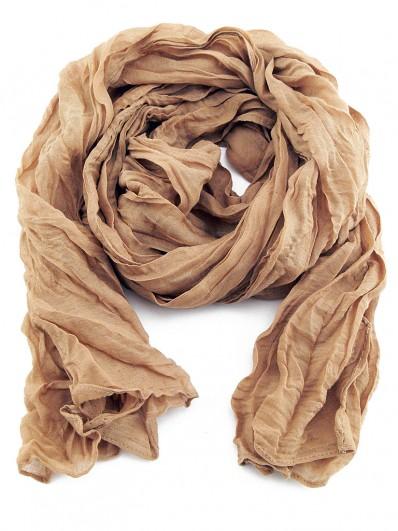 Foulard froissé en coton