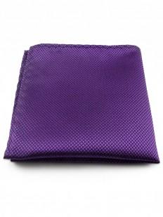 Pochette de costume violet foncé