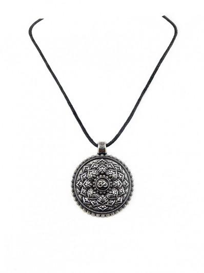 Collier Fleur de lotus Mandala