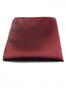 Pochette de costume rouge cardinal