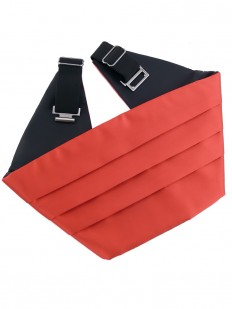 Ceinture Smoking rouge