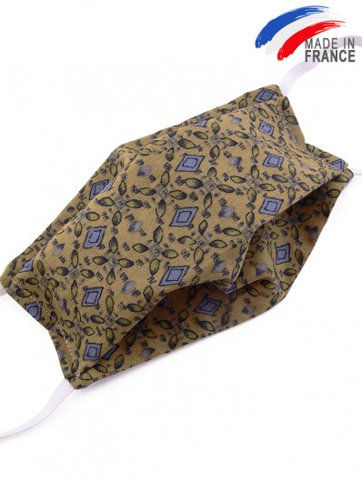 Masque de protection alternatif en coton chaudron