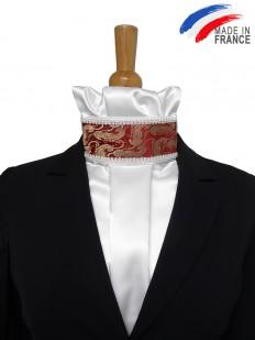 Cravate de dressage motif cachemire
