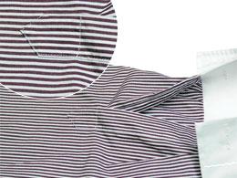 Positionnement parfait des éléments de la chemise
